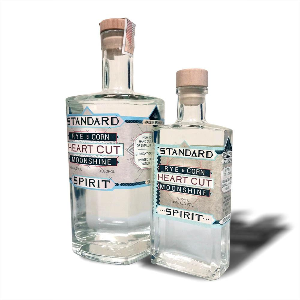 Standard Spirit Distillery Rye and Corn Heart Cut Moonshine - De Wine Spot | Curated Whiskey, Small-Batch Wines and Sakes