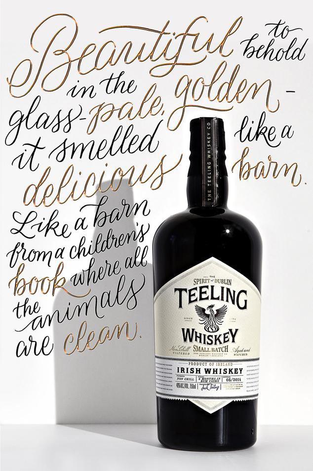 Teeling Small Batch Irish Whiskey - De Wine Spot | Curated Whiskey, Small-Batch Wines and Sakes