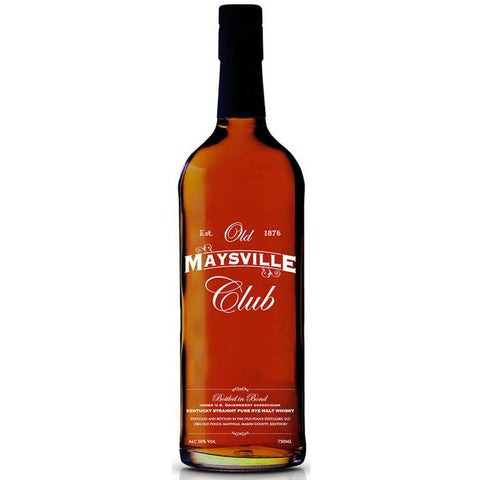 Old Maysville Club Kentucky Straight Rye Whiskey - De Wine Spot | Curated Whiskey, Small-Batch Wines and Sakes