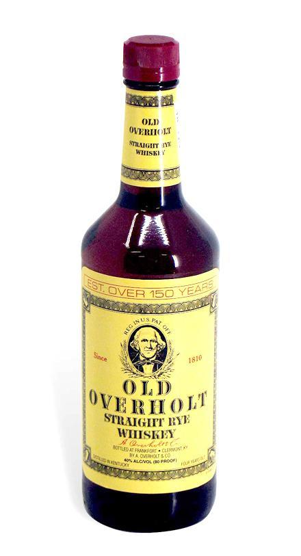 Old Overholt Straight Rye Whiskey - De Wine Spot | Curated Whiskey, Small-Batch Wines and Sake Collection  - 3