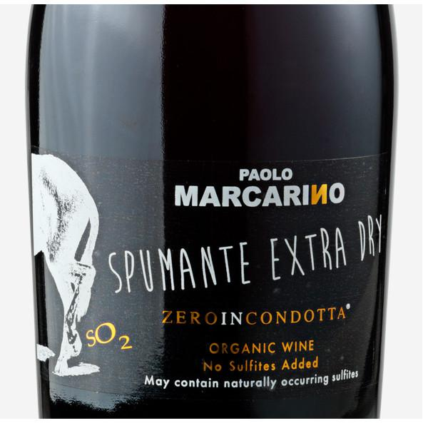 Paolo Marcarino Zero In Condotta Spumante Extra Dry - De Wine Spot | Curated Whiskey, Small-Batch Wines and Sakes