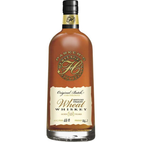 Parker's Heritage Collection 13 Year Original Batch Wheat Whiskey (Release #8) - De Wine Spot | Curated Whiskey, Small-Batch Wines and Sakes