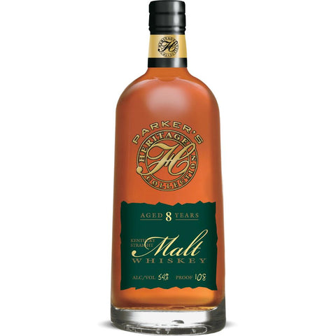 Parker's Heritage Collection Aged 8 Years Kentucky Straight Malt Whiskey (Release #9) - De Wine Spot | Curated Whiskey, Small-Batch Wines and Sakes