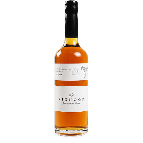 "Pinhook Straight Bourbon Whiskey No. 1 ""Bourbon Courage"" 