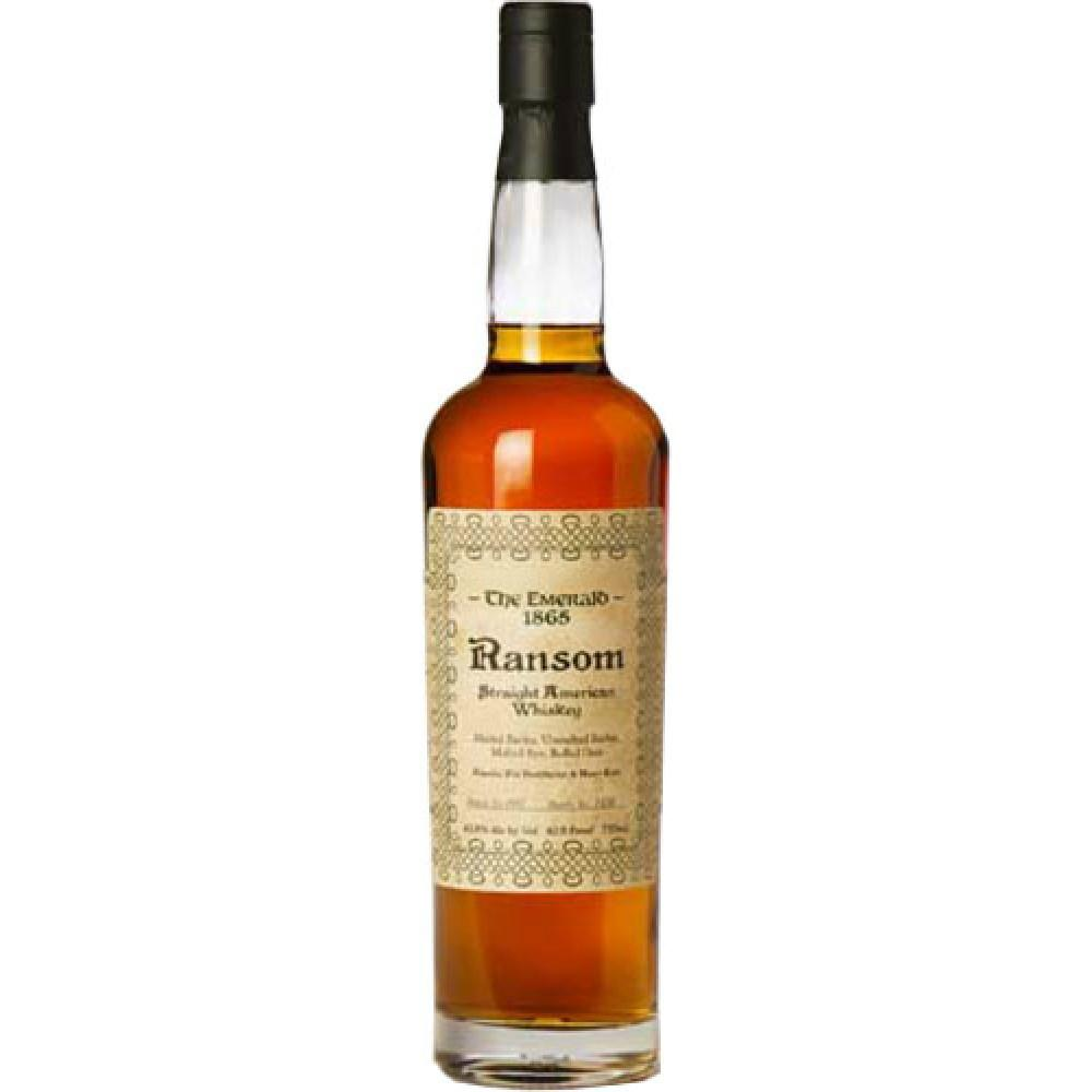 Ransom Spirits The Emerald 1865 Straight American Whiskey - De Wine Spot | Curated Whiskey, Small-Batch Wines and Sakes