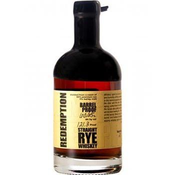 Redemption Straight Rye Whiskey Barrel Proof - De Wine Spot | Curated Whiskey, Small-Batch Wines and Sake Collection  - 1