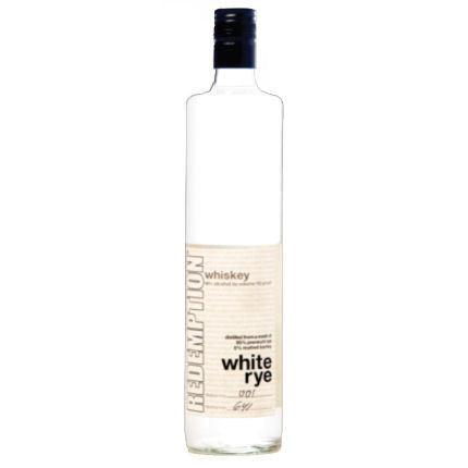 Redemption White Rye Whiskey | De Wine Spot - Curated Whiskey, Small-Batch Wines and Sakes