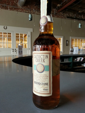 Catoctin Creek Distilling Roundstone Rye 92 Proof - De Wine Spot | Curated Whiskey, Small-Batch Wines and Sakes