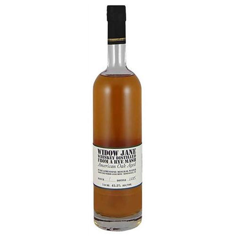 Widow Jane Oak Aged Rye Mash Whiskey | De Wine Spot - Curated Whiskey, Small-Batch Wines and Sakes