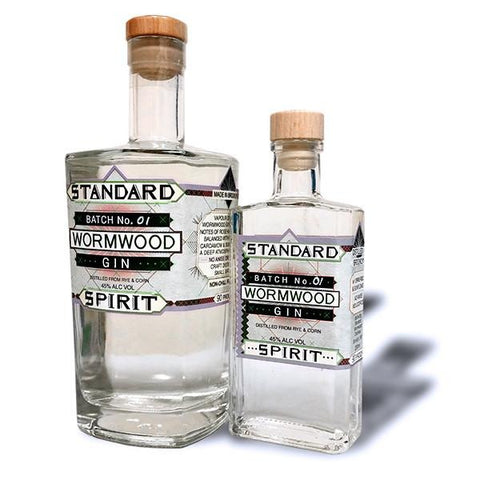 Standard Spirit Distillery Wormwood Gin - De Wine Spot | Curated Whiskey, Small-Batch Wines and Sakes