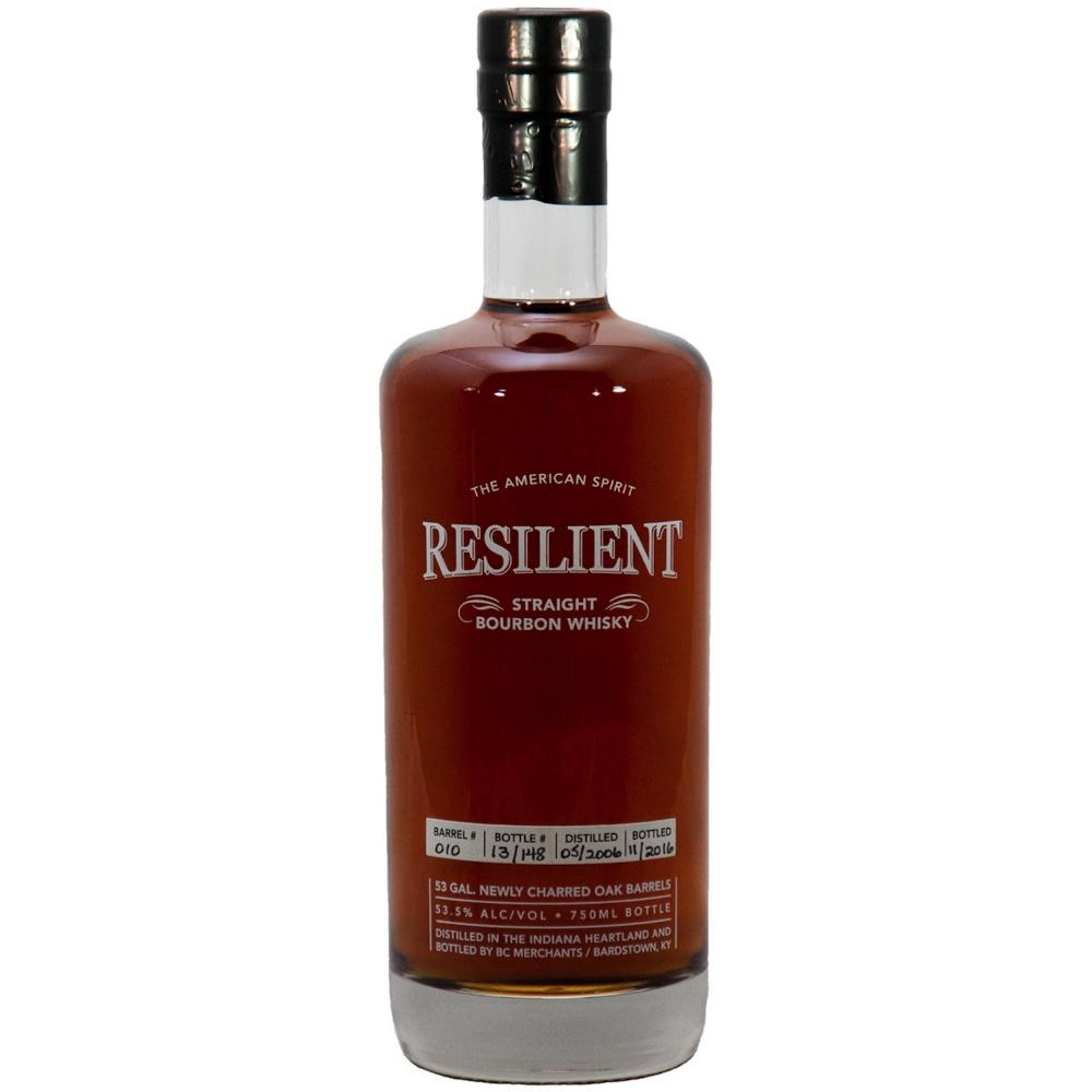 Resilient 11-Year-Old Single Barrel Straight Bourbon Whiskey Release #2 - De Wine Spot | Curated Whiskey, Small-Batch Wines and Sakes