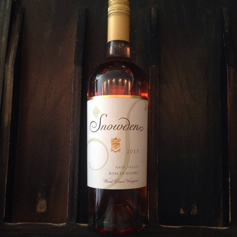 Snowden Vineyards Napa Valley Rose Of Malbec Ward Eisan Vineyard | De Wine Spot - Curated Whiskey, Small-Batch Wines and Sakes