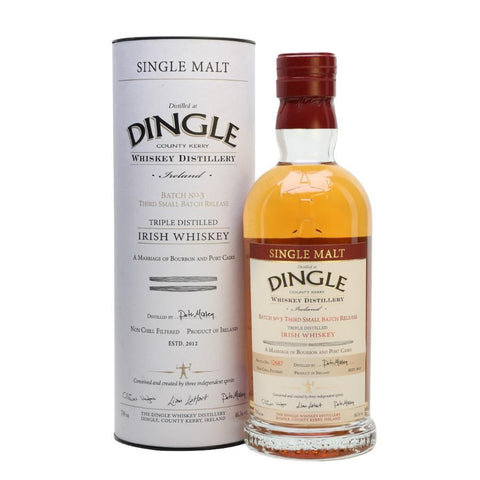 Dingle Distillery Irish Whiskey - De Wine Spot | Curated Whiskey, Small-Batch Wines and Sakes