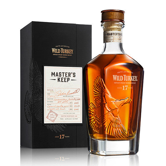 Wild Turkey Master's Keep 17 Year Old Kentucky Straight Bourbon Whiskey - De Wine Spot | Curated Whiskey, Small-Batch Wines and Sakes