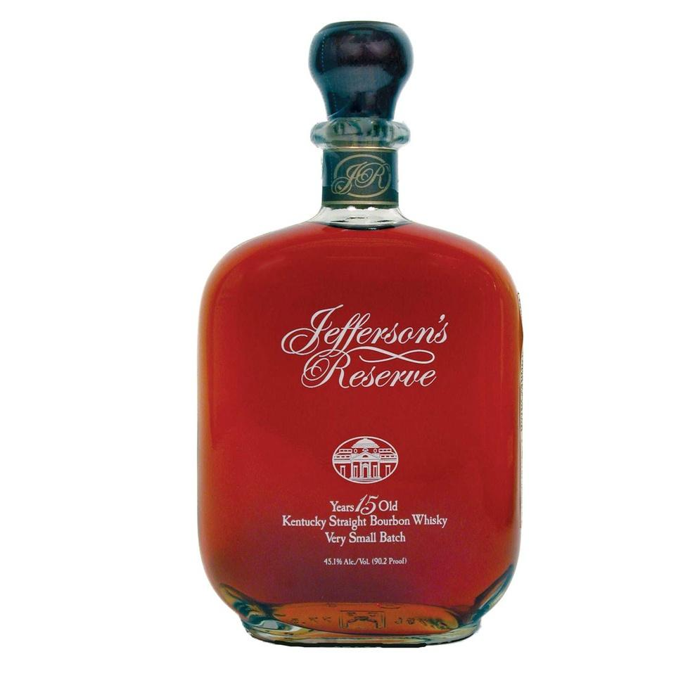 Jefferson's Reserve 15 Year Old Straight Bourbon Whisky - De Wine Spot | Curated Whiskey, Small-Batch Wines and Sakes