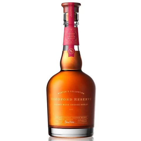 Woodford Reserve Master's Collection No. 12 Cherry Wood Smoked Barley Kentucky Straight Bourbon Whiskey - De Wine Spot | Curated Whiskey, Small-Batch Wines and Sakes