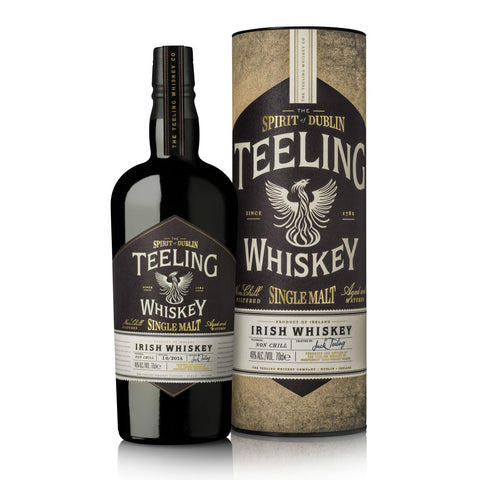 Teeling Single Malt Irish Whiskey - De Wine Spot | Curated Whiskey, Small-Batch Wines and Sakes