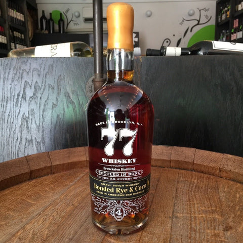 Breuckelen 77 Whiskey Bonded Rye & Corn - De Wine Spot | Curated Whiskey, Small-Batch Wines and Sakes