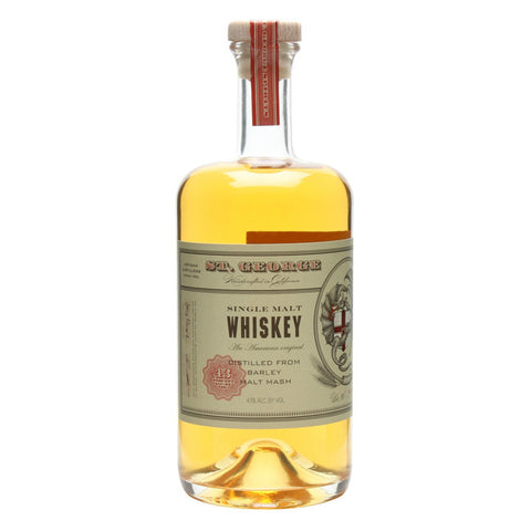 St. George Single Malt Whiskey | De Wine Spot - Curated Whiskey, Small-Batch Wines and Sakes