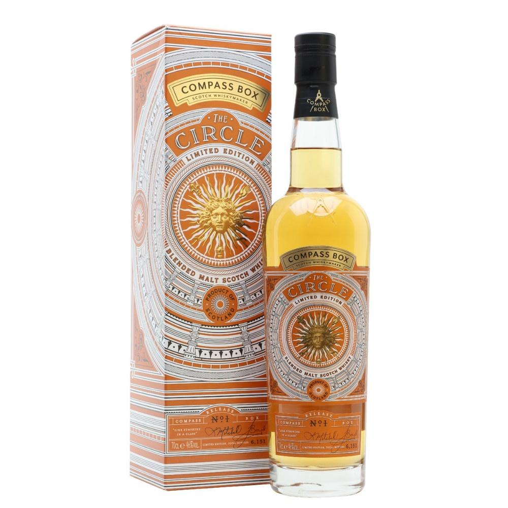 "Compass Box ""The Circle"" Limited Edition Blended Malt Scotch Whisky - De Wine Spot 