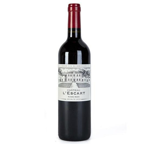 Chateau L'Escart Cuvee Eden  Bordeaux Superieur - De Wine Spot | Curated Whiskey, Small-Batch Wines and Sakes