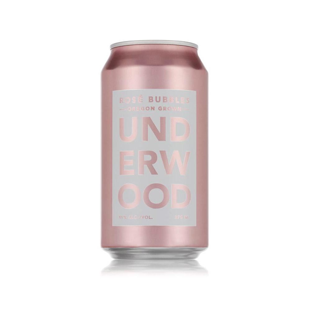 Underwood Cellars Sparkling Rose Can | De Wine Spot - Curated Whiskey, Small-Batch Wines and Sakes