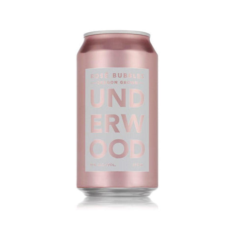Underwood Cellars Sparkling Rose Can - De Wine Spot | Curated Whiskey, Small-Batch Wines and Sakes