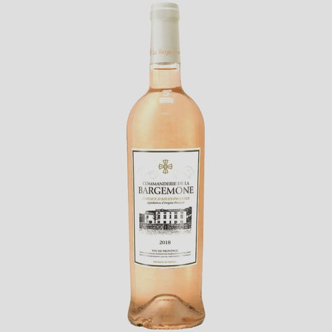 Commanderie de la Bargemone Coteaux d'Aix-en-Provence Rose - De Wine Spot | Curated Whiskey, Small-Batch Wines and Sakes