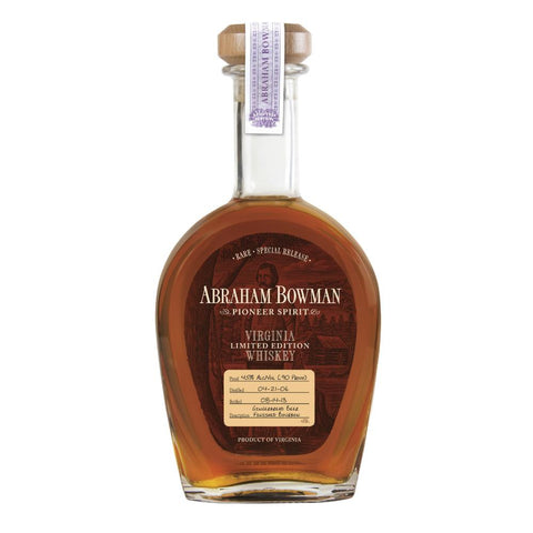 Abraham Bowman Whiskey Limited Edition Gingerbread Beer Finished Bourbon - De Wine Spot | Curated Whiskey, Small-Batch Wines and Sakes