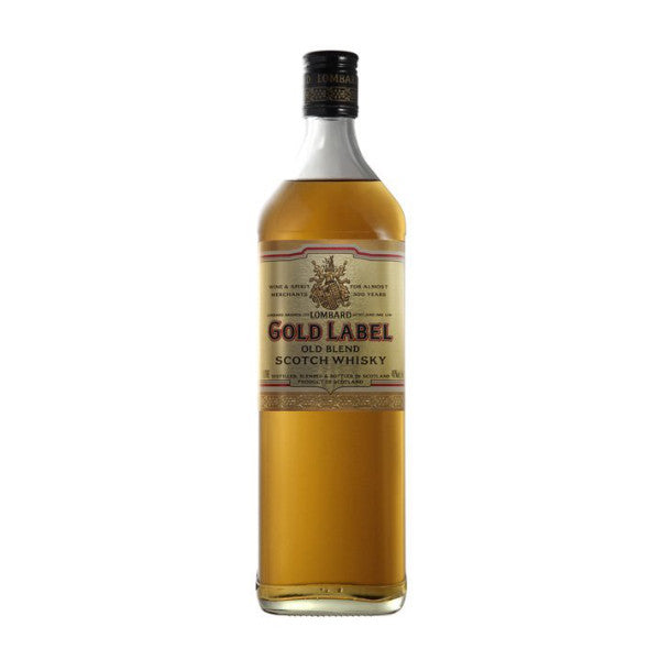 Lombard Gold Label Blended Scotch Whisky - De Wine Spot | Curated Whiskey, Small-Batch Wines and Sakes