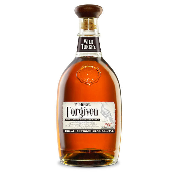 Wild Turkey Forgiven Blend Of Bourbon & Rye Straight Whiskies - De Wine Spot | Curated Whiskey, Small-Batch Wines and Sakes