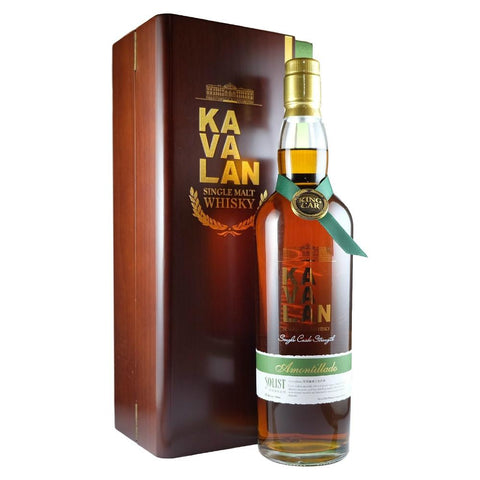 Kavalan Solist Amontillado Sherry Single Cask Strength Single Malt Whisky - De Wine Spot | Curated Whiskey, Small-Batch Wines and Sakes