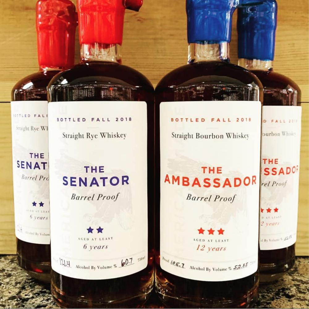 Ambassador 12 Year Old Straight Bourbon Barrel Proof - De Wine Spot | Curated Whiskey, Small-Batch Wines and Sakes