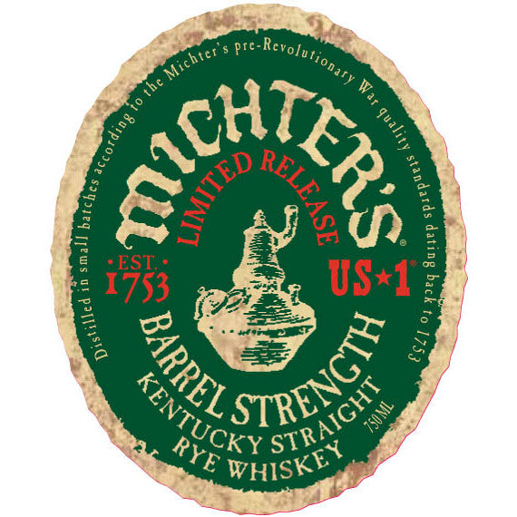 Michter's Barrel Strength Kentucky Straight Rye Whiskey - De Wine Spot | Curated Whiskey, Small-Batch Wines and Sakes
