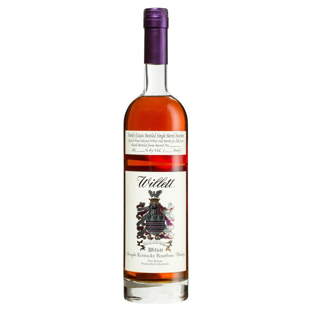 Willett Family Estate Single Barrel 14 Years Kentucky Straight Bourbon Whiskey - De Wine Spot | Curated Whiskey, Small-Batch Wines and Sakes