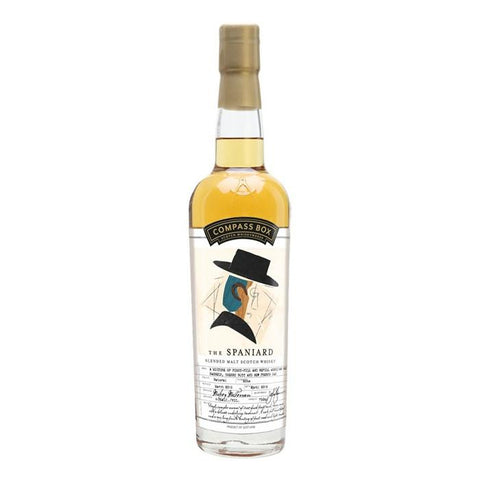 Compass Box The Spaniard Blended Malt Scotch Whisky - De Wine Spot | Curated Whiskey, Small-Batch Wines and Sakes