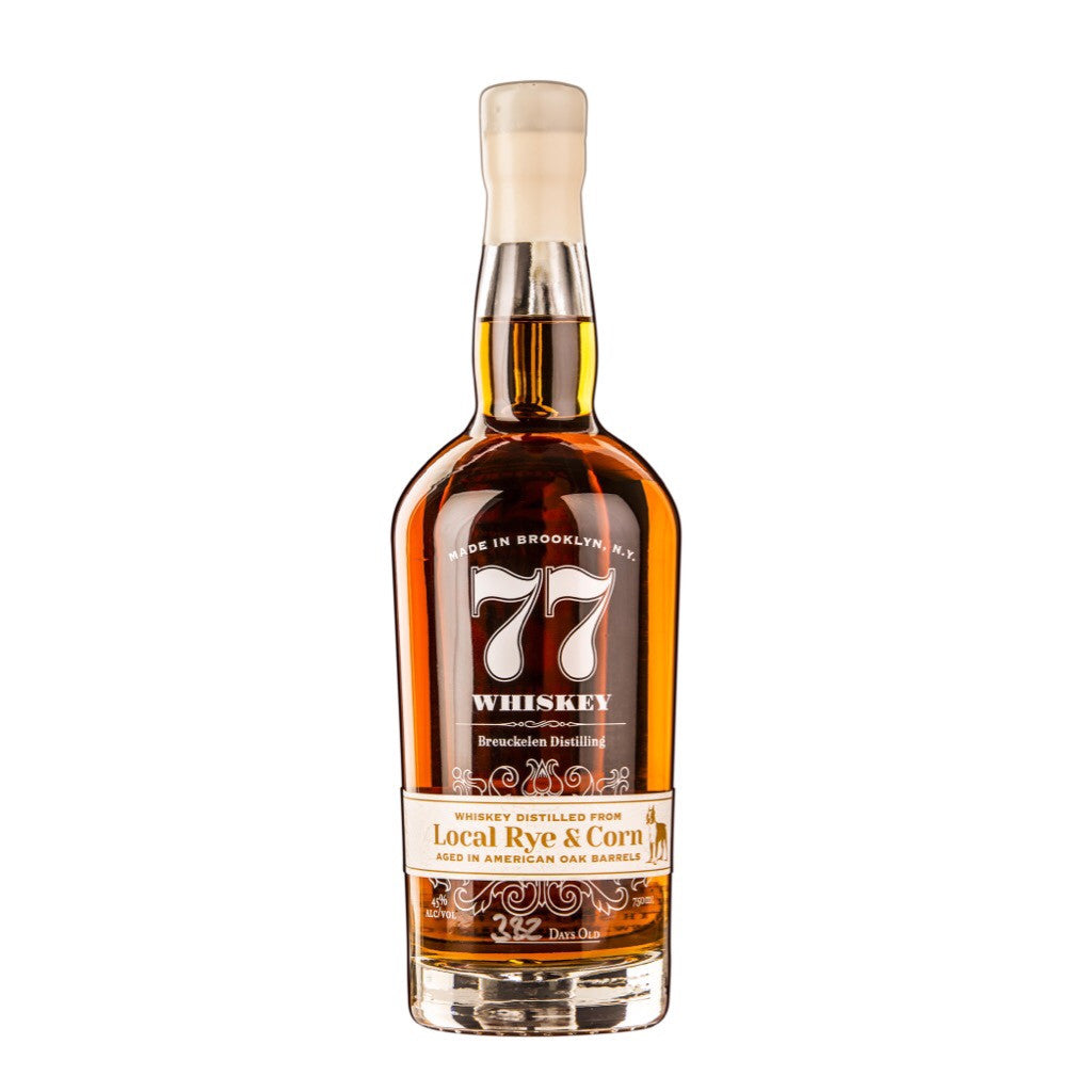 Breuckelen 77 Whiskey Local Rye & Corn - De Wine Spot | Curated Whiskey, Small-Batch Wines and Sakes