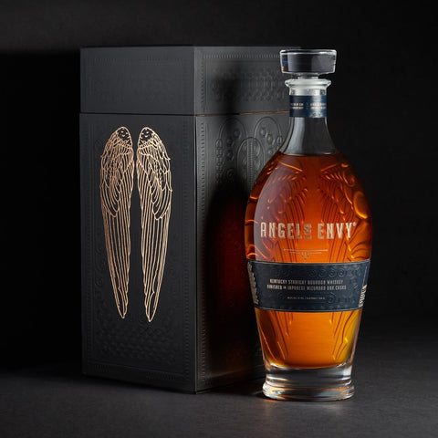 Angel's Envy Kentucky Straight Bourbon Whiskey Finished In Japanese Mizunara Oak Casks - De Wine Spot | Curated Whiskey, Small-Batch Wines and Sakes