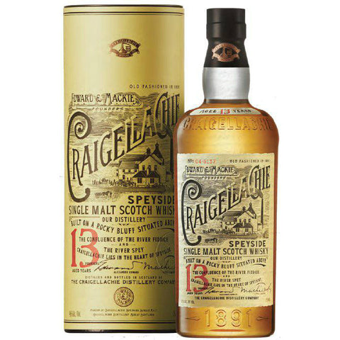 Craigellachie 13 Years Speyside Single Malt Scotch Whisky - De Wine Spot | Curated Whiskey, Small-Batch Wines and Sakes