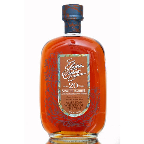 Elijah Craig 20 Years Single Barrel Kentucky Straight Bourbon Whiskey | De Wine Spot - Curated Whiskey, Small-Batch Wines and Sakes
