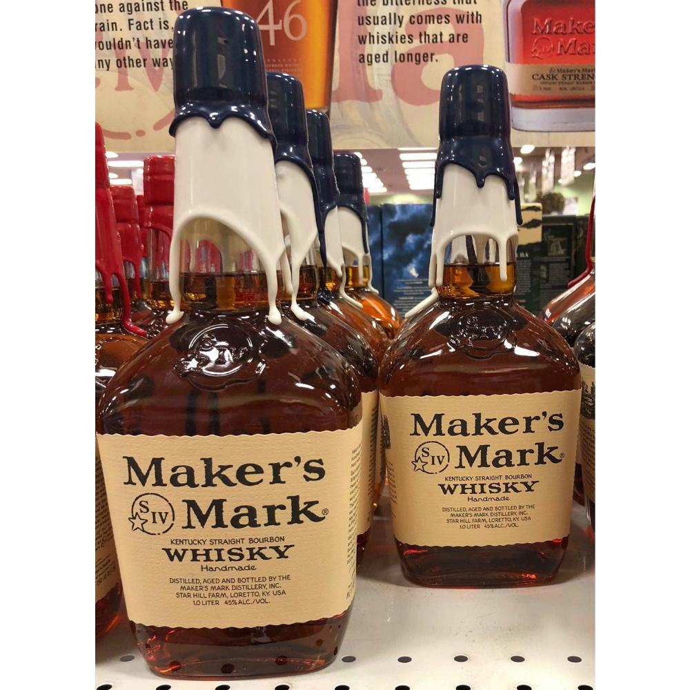 Maker's Mark Yankees Kentucky Straight Bourbon Whisky - De Wine Spot | Curated Whiskey, Small-Batch Wines and Sakes
