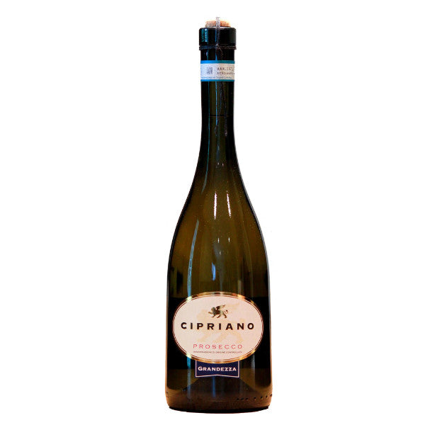 Cipriano Prosecco Grandezza - De Wine Spot | Curated Whiskey, Small-Batch Wines and Sakes