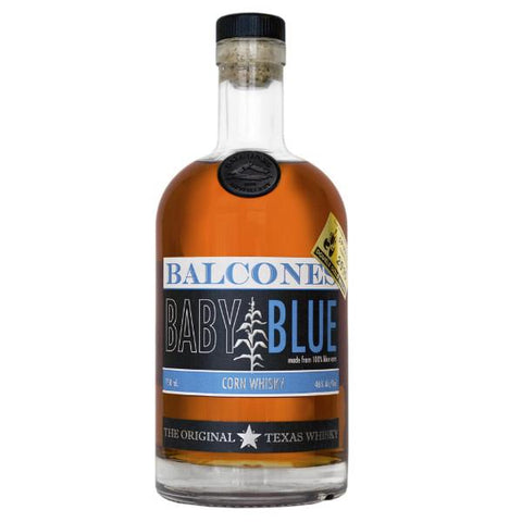 Balcones Distillery Baby Blue Corn Whiskey | De Wine Spot - Curated Whiskey, Small-Batch Wines and Sakes