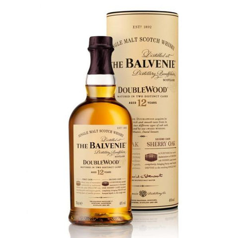 Balvenie Doublewood 12 Year Old Scotch Whisky | De Wine Spot - Curated Whiskey, Small-Batch Wines and Sakes