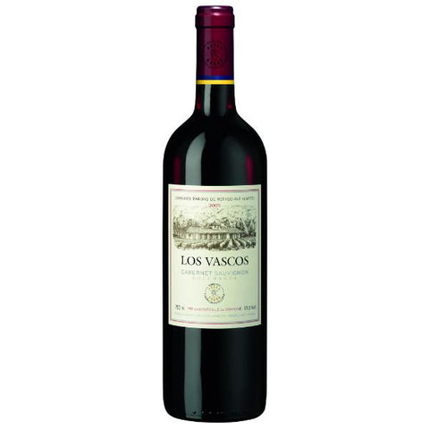Barons De Rothschild (Lafite) Los Vascos Cabernet Sauvignon - De Wine Spot | Curated Whiskey, Small-Batch Wines and Sakes