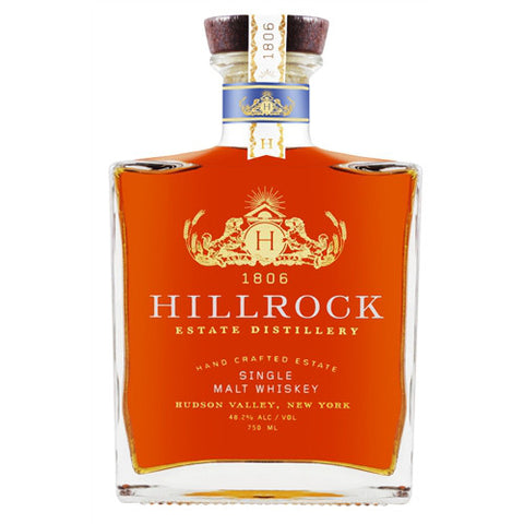 Hillrock Estate Distillery Single Malt Whiskey - De Wine Spot | Curated Whiskey, Small-Batch Wines and Sakes