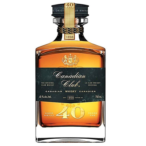 Canadian Club 40 Year - De Wine Spot | Curated Whiskey, Small-Batch Wines and Sakes