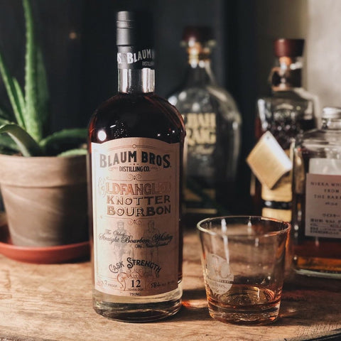 Blaum Brothers 12-year-old Fangled Knotter Bourbon - De Wine Spot | Curated Whiskey, Small-Batch Wines and Sakes