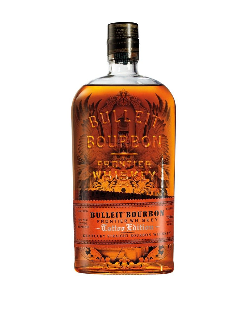 Bulleit Tattoo New York Limited Edition Kentucky Straight Bourbon Whiskey - De Wine Spot | Curated Whiskey, Small-Batch Wines and Sakes