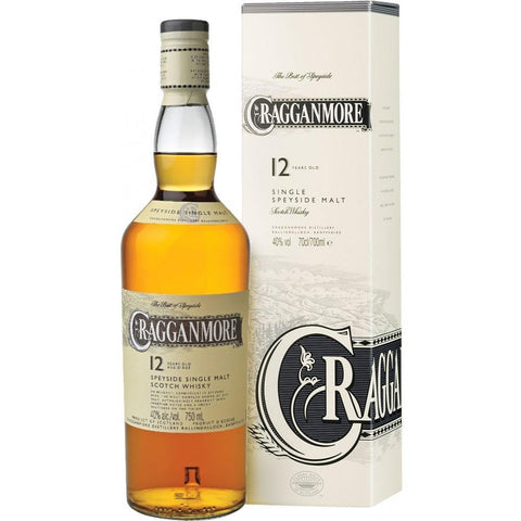 Cragganmore 12 Years Old Speyside Single Malt Scotch Whisky - De Wine Spot | Curated Whiskey, Small-Batch Wines and Sake Collection